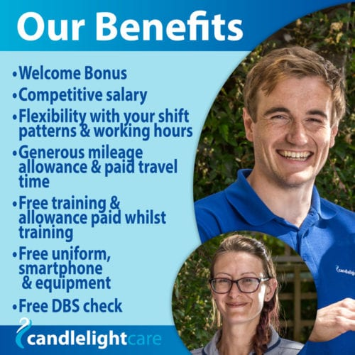 Benefits for Care and Support Workers at Candlelight Care