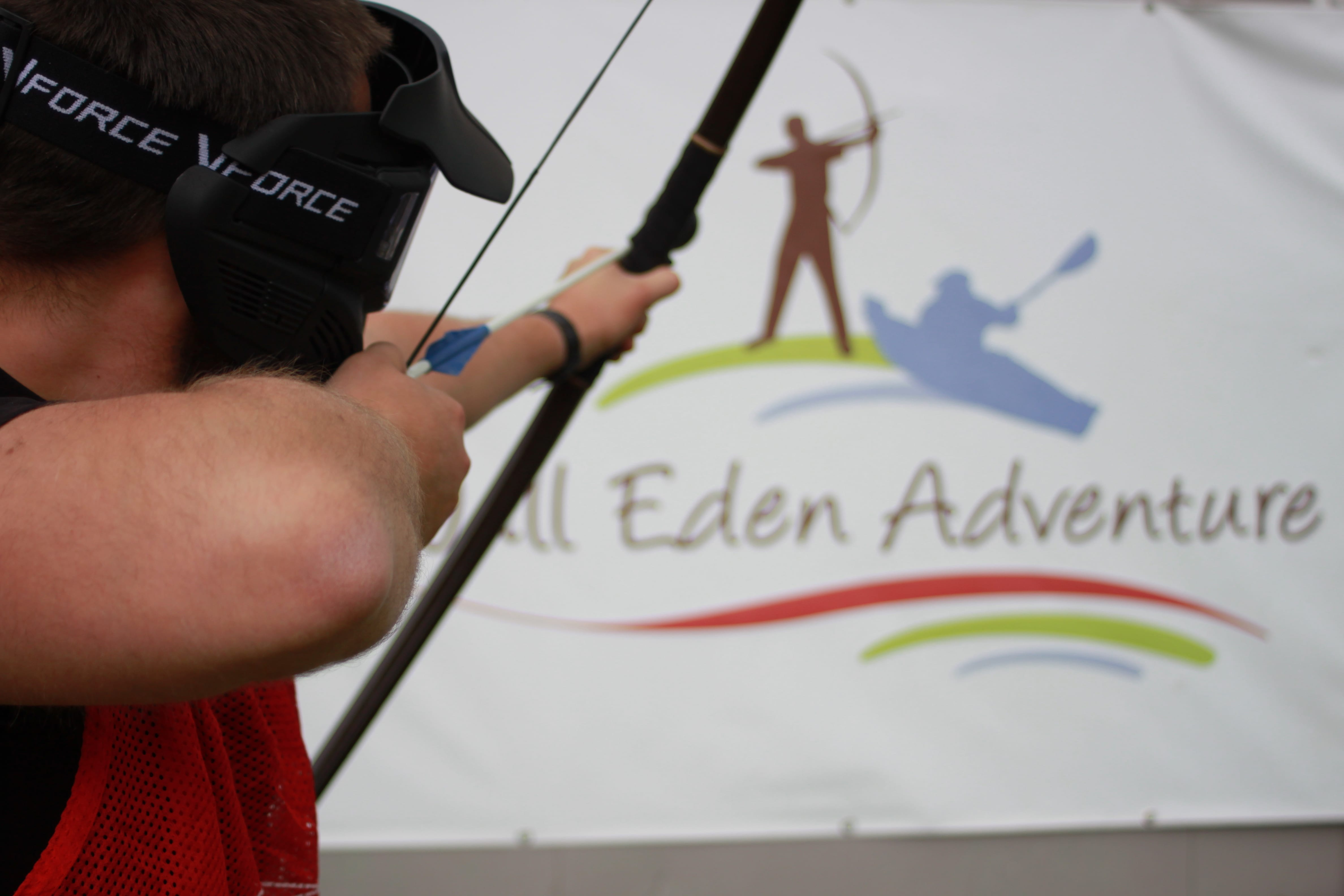 Archery at Wall Eden in SOmerset