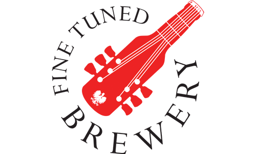 Fine tuned brewery logo South Petherton design service