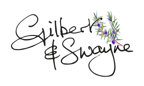 Gilbert and Swayne Chocolates - logo created by Stable design