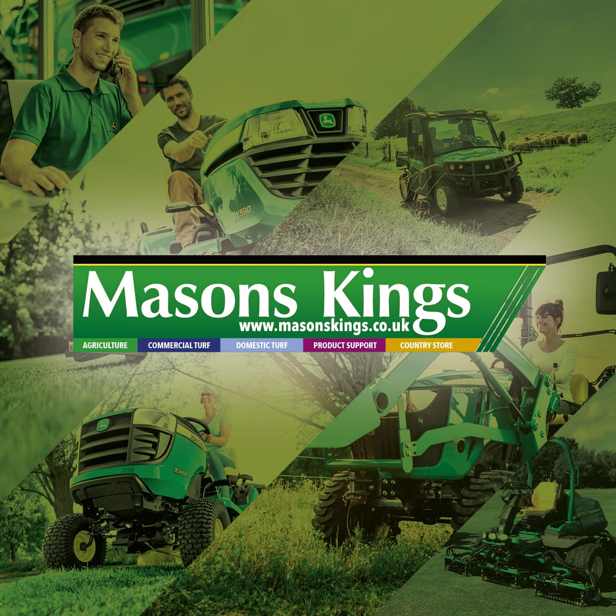 Masons Kings company brochure design