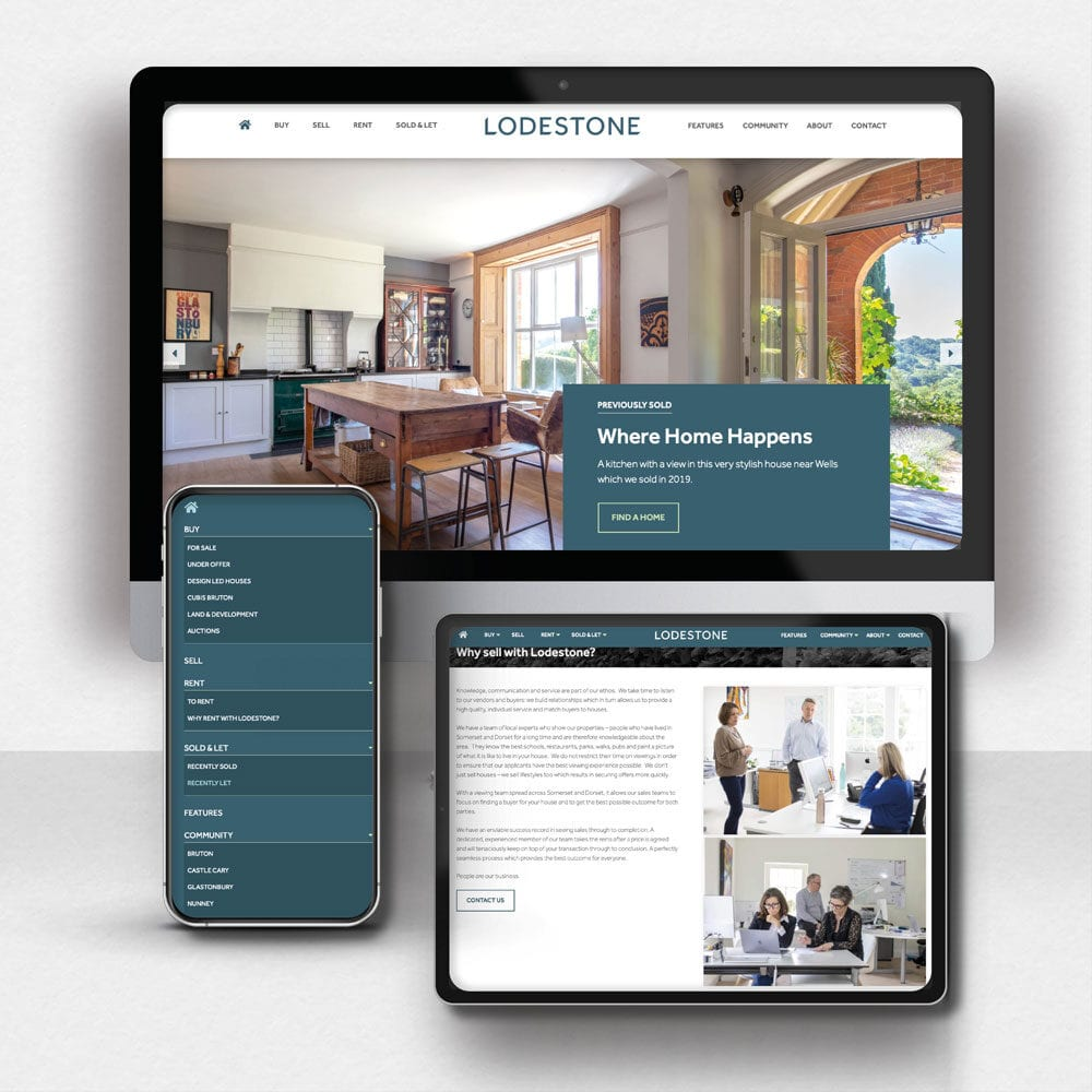 Lodestone Property Website Design