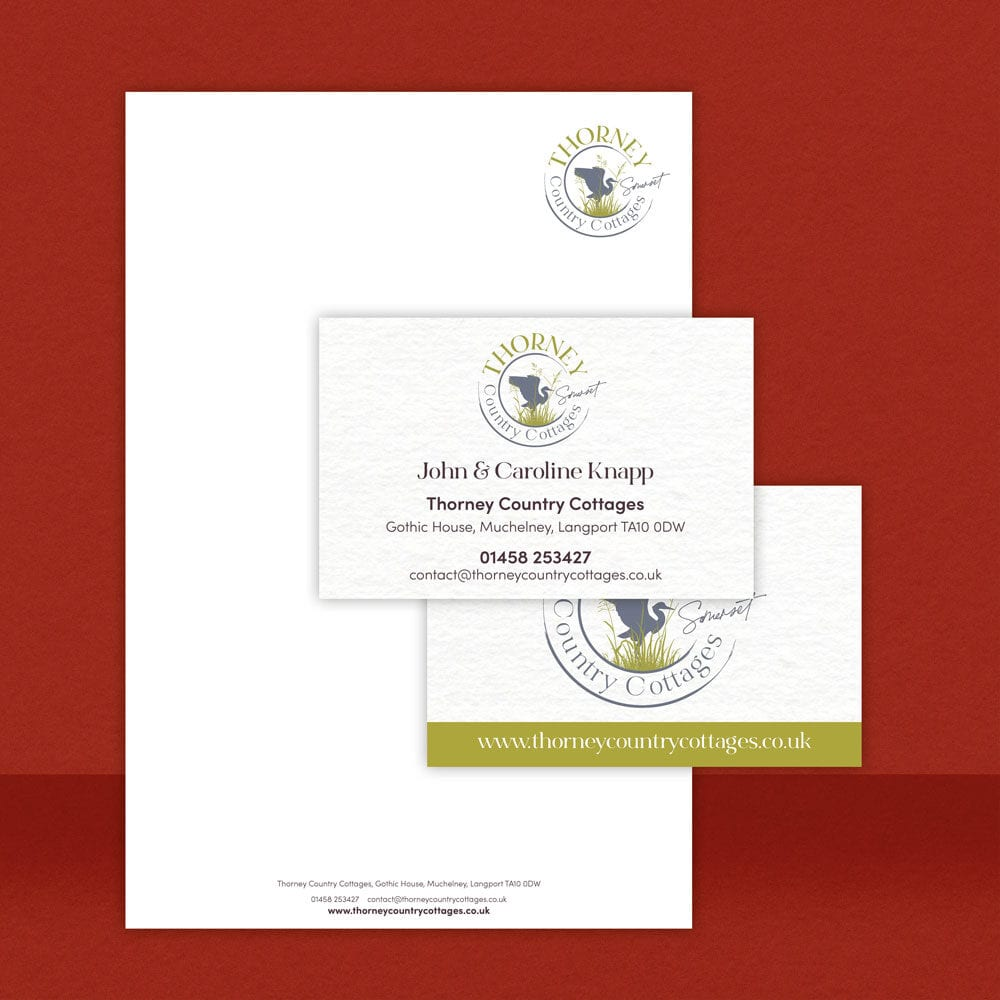 Thorney Country Cottages Business Cards