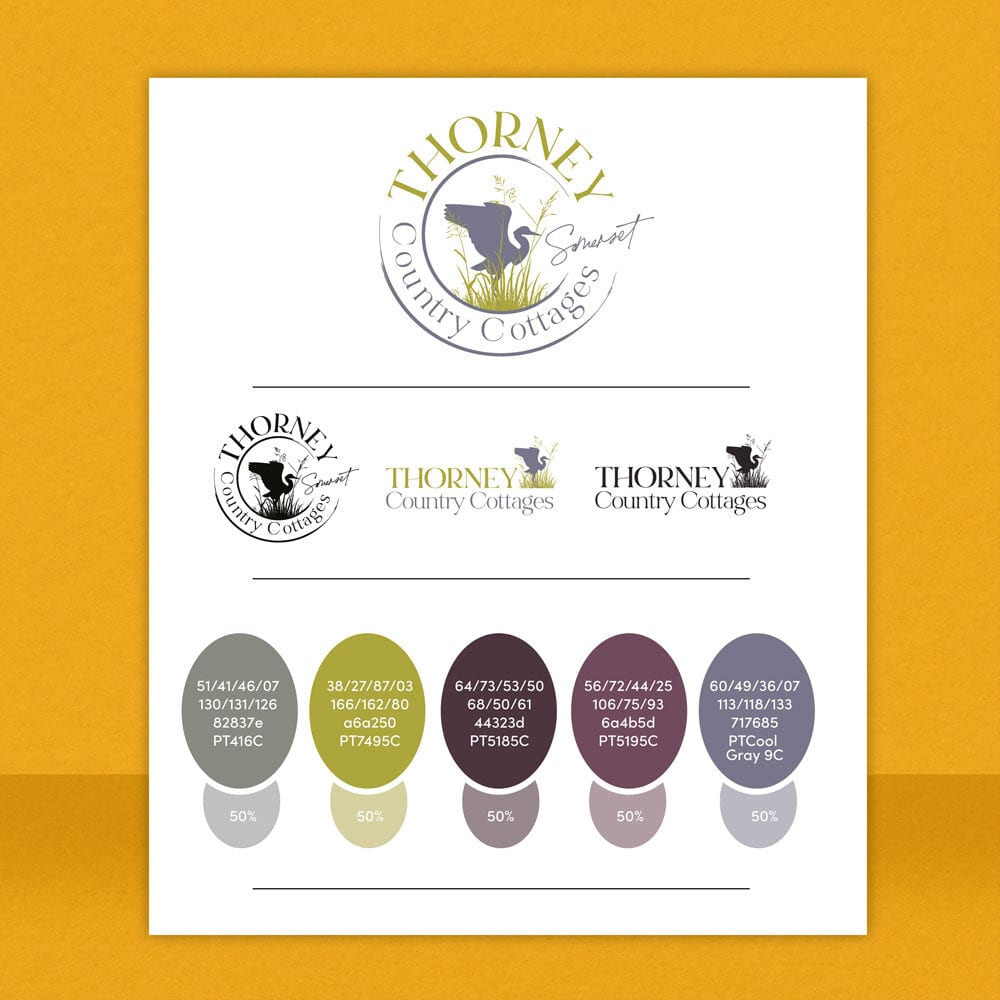 Thorney Country Cottages Brand guidelines