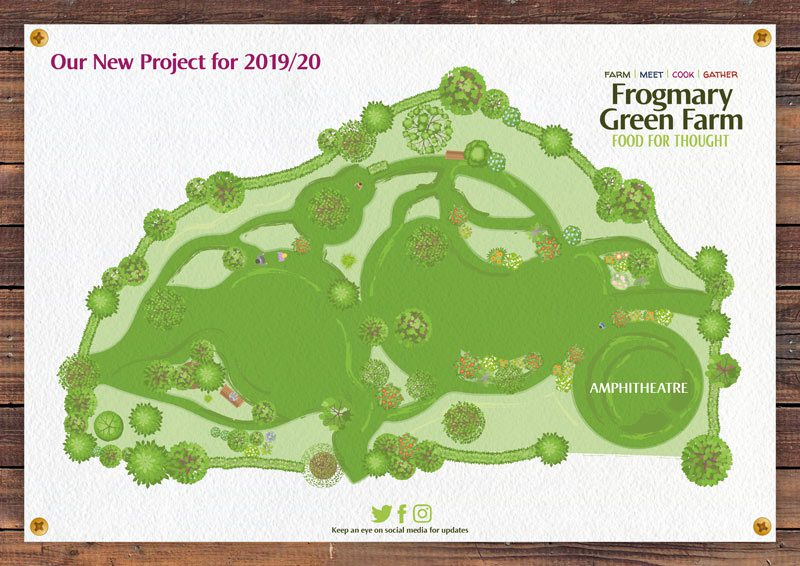 Wildlife and Arboretum extension project at Frogmary Green Farm, South Petherton