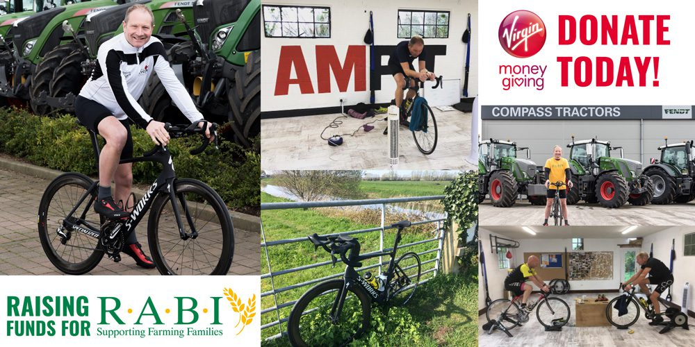 Nick Bragg Cycling Challenge in aid of R.A.B.I.