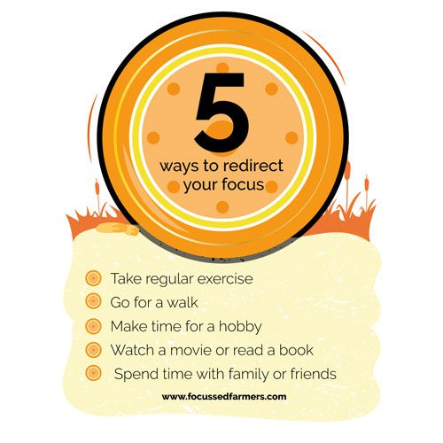 5 ways to re-direct your focus