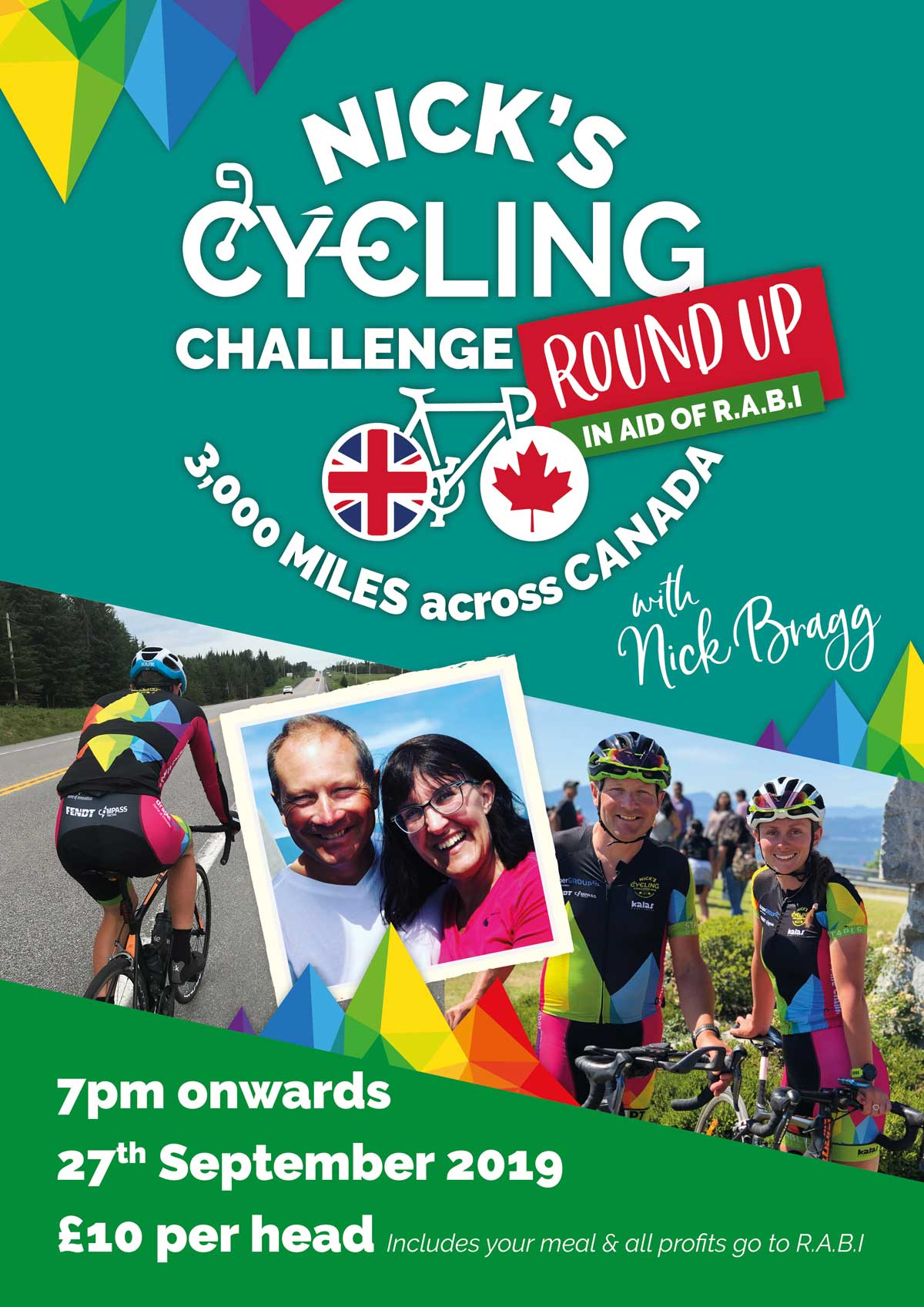 Nick's Cycling Challenge Round-Up