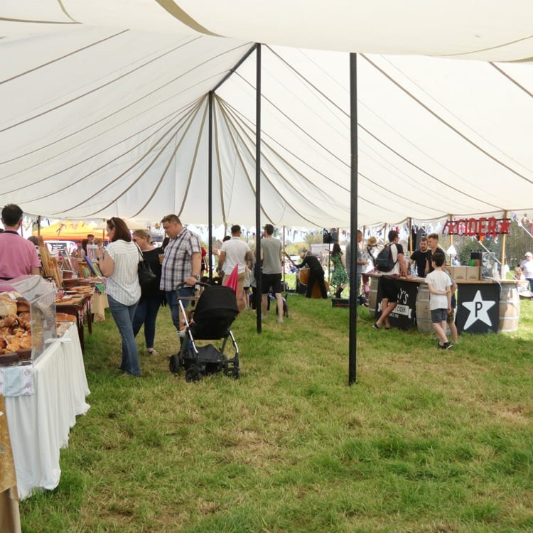 Browse our local Market Stalls at Easter Fayre