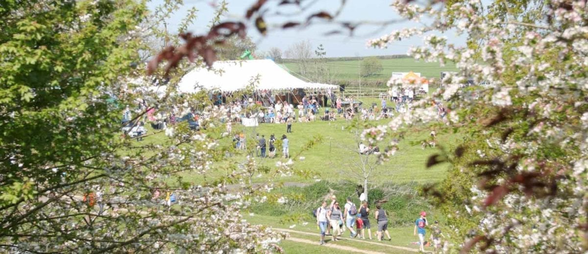 Sunny day at our Easter Fayre