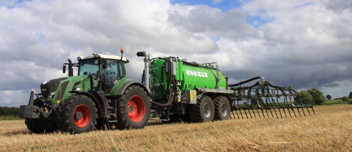 Fendt Tractor at Frogmary Green Farm