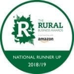Rural Business Awards - Runner Up 2018/19