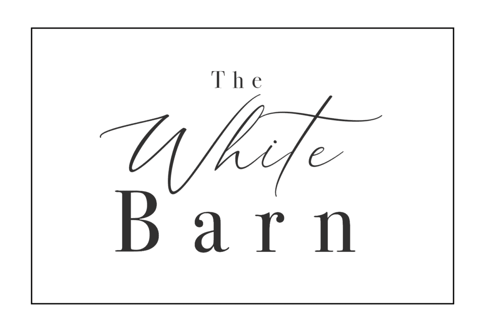 WHite BArn Wedding venue Logo - Near South Petherton