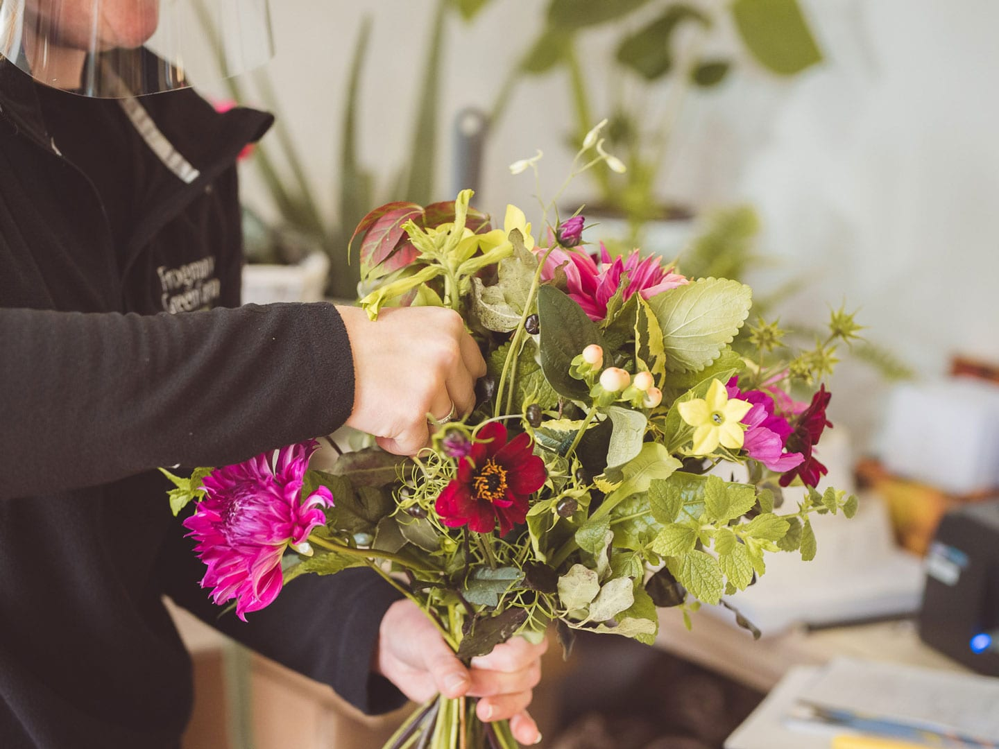 Flower shop click and collect somerset