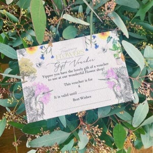 Gift Vouchers for Frogmary Flower