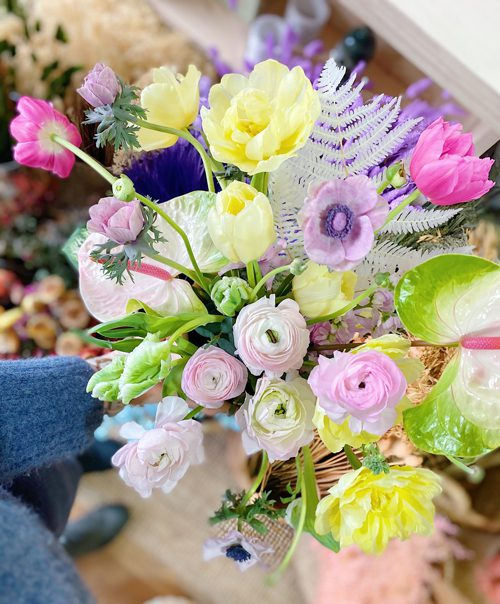 Spring Flowers from Frogmary's Florist