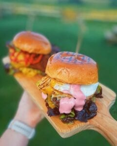 Farm and Filed Cafe burgers