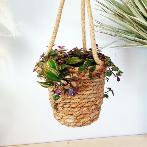 Woven hanging basket for sale