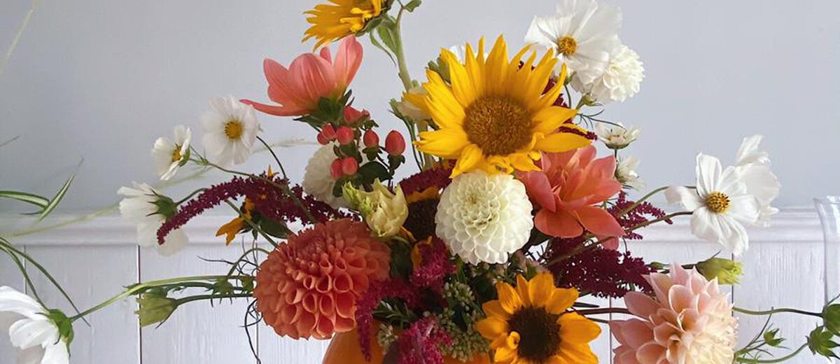 Make Your Own Floral Pumpkin Display Event