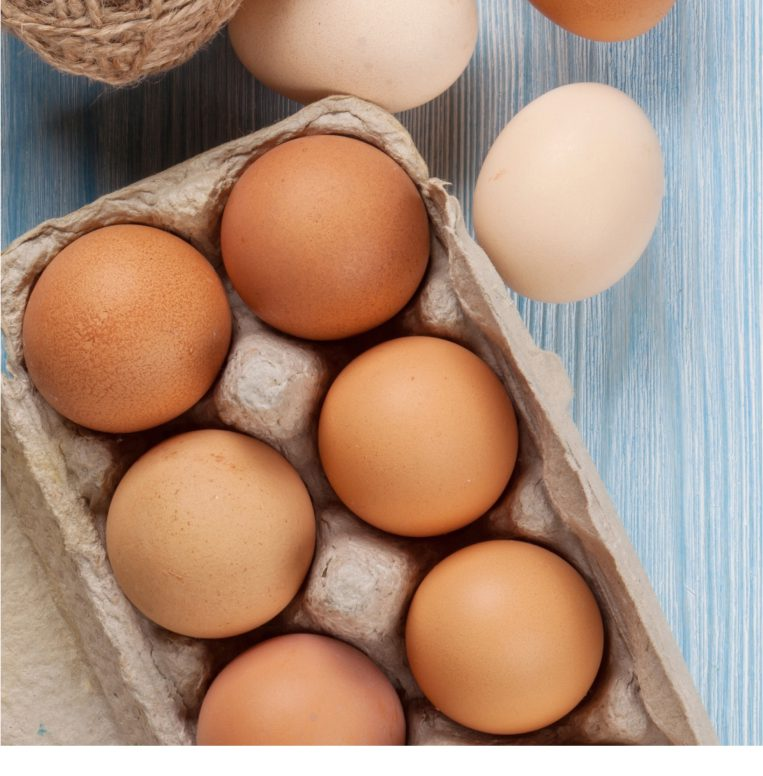 Free range eggs delivered near Ilminster and Chard   Somerset