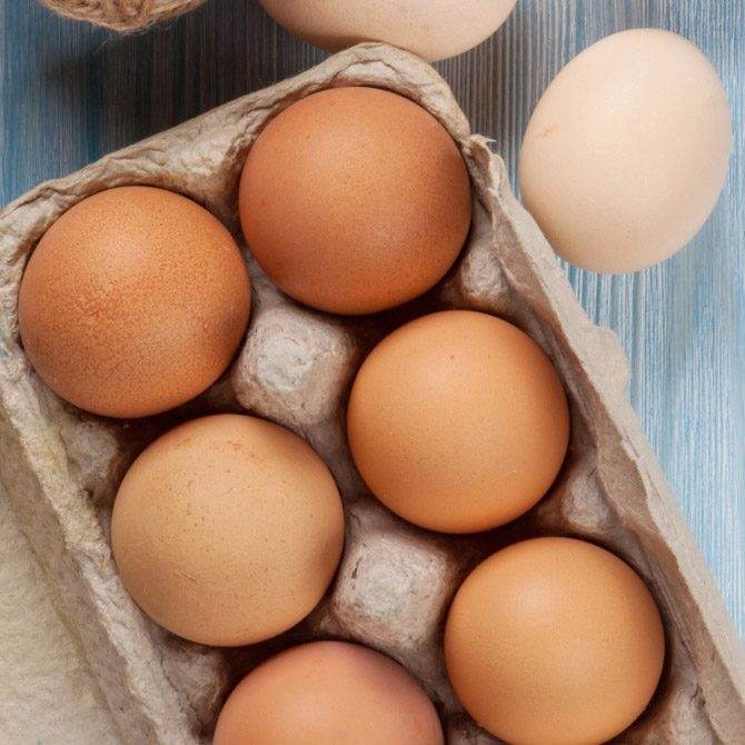 locally delivered free range eggs | Somerset