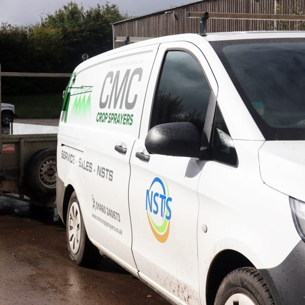 CMC Mobile NSTS Van covering the South West
