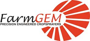 FarmGEM Logo - Engineered Cropsprayers