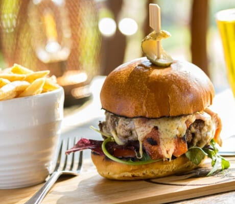 Haselbury Mill Gourmet country burgers