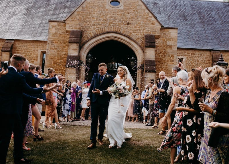 Wedding at the Tithe Barn in Somerset