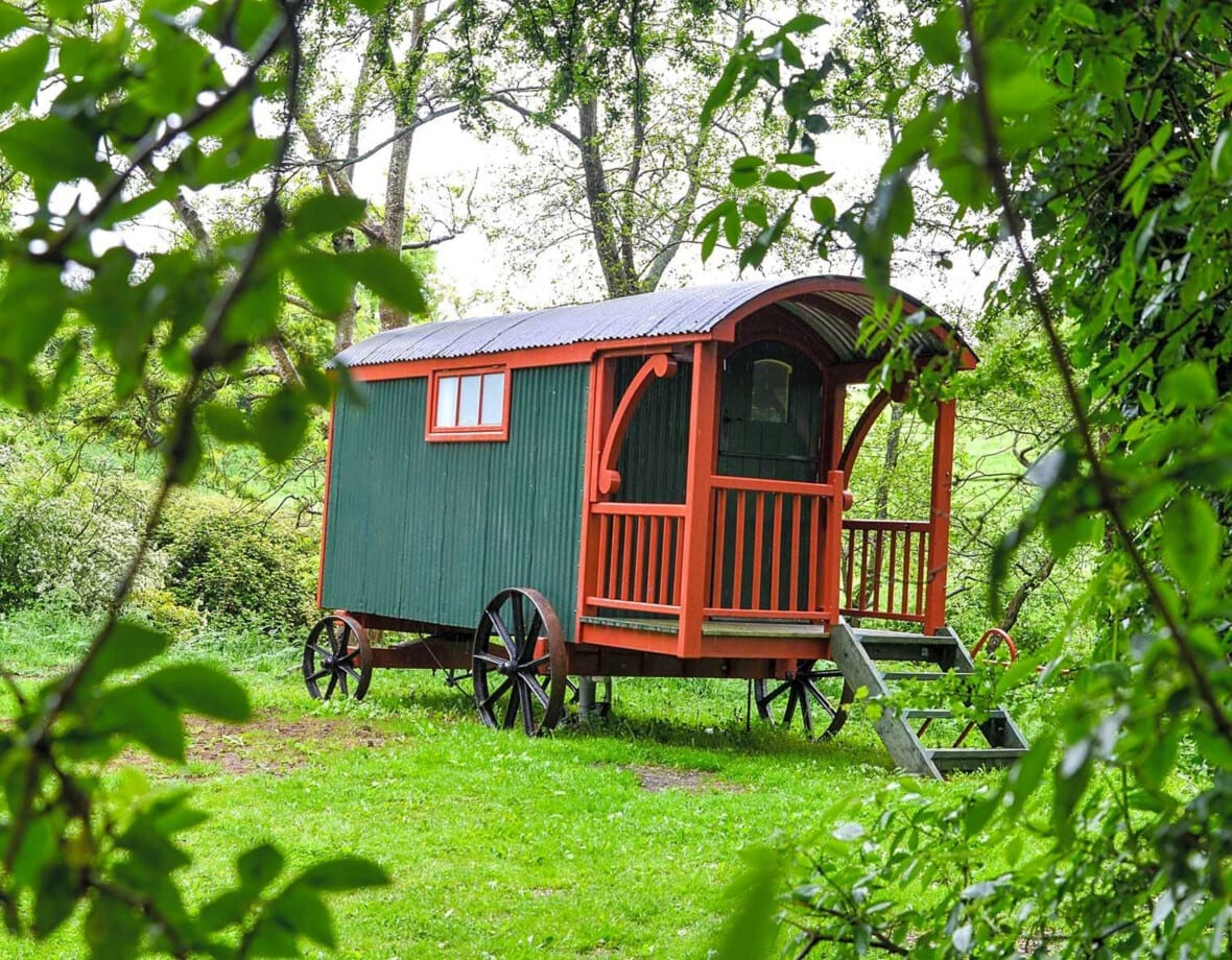 Glamping location near Crewkerne