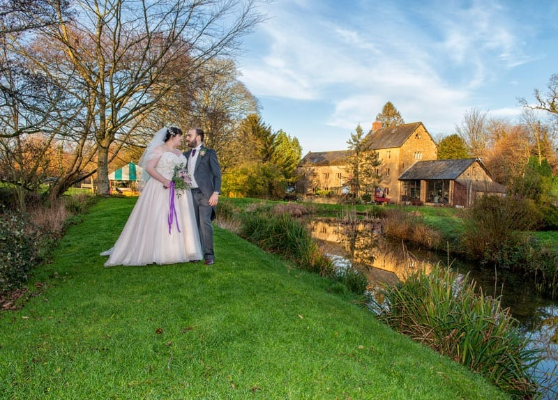 Lakeside Weddings Haselbury Mill Somerset