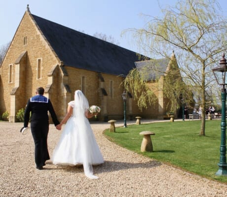 Wedding at the Tithe Barn, Somerset