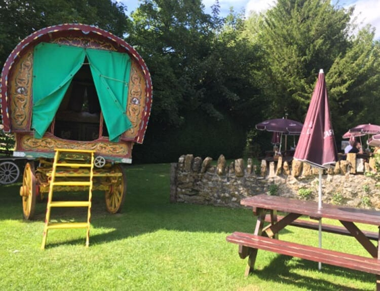The Appleby | Glamping in vintage gypsy wagon