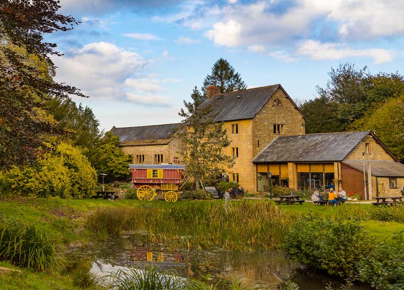 Old mill turned into lakeside restaurant - History of Haselbury Mill