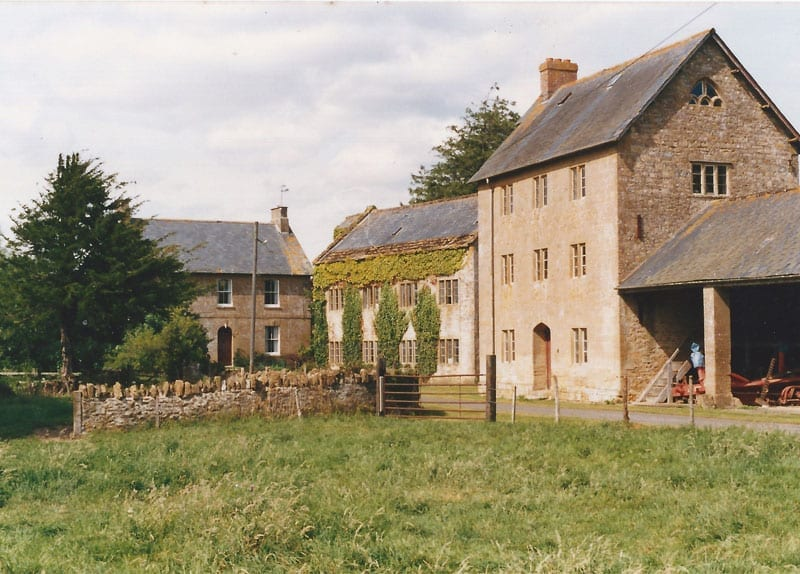 Old mill building - History of Haselbury Mill