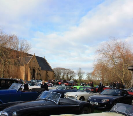 Yeovil Car Club's Classic Car Show at Haselbury Mill