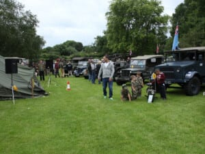 Historic Military Event at Haselbury Mill