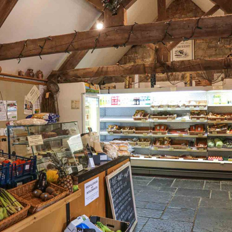 Brown and Forrest Smoked Food Shop in Hambridge, Somerset