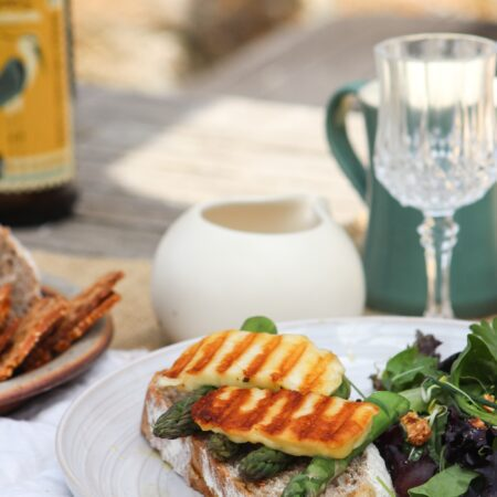 Brown & Forrest's smoked halloumi