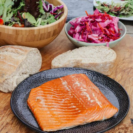 Brown & Forrest's hot smoked fillet of trout