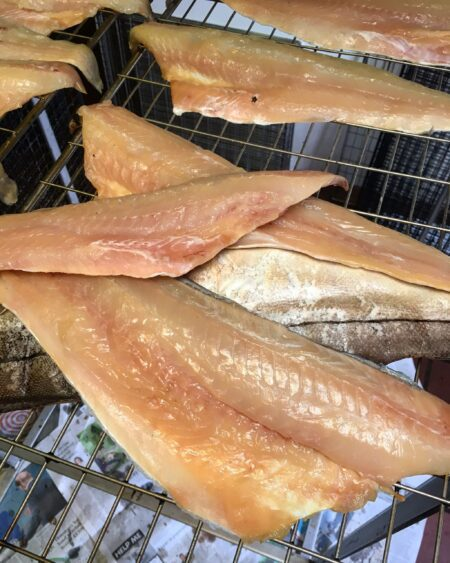 Smoked haddock fillets by Brown & Forrest Smokery