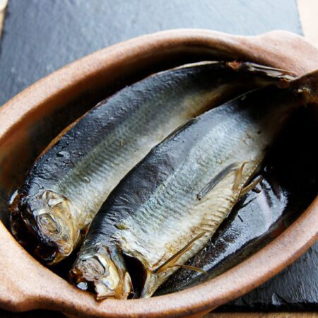 Kipper fillets by Brown & Forrest Smokery