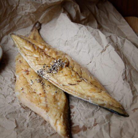 Smoked mackerel by Brown & Forrest Smokery