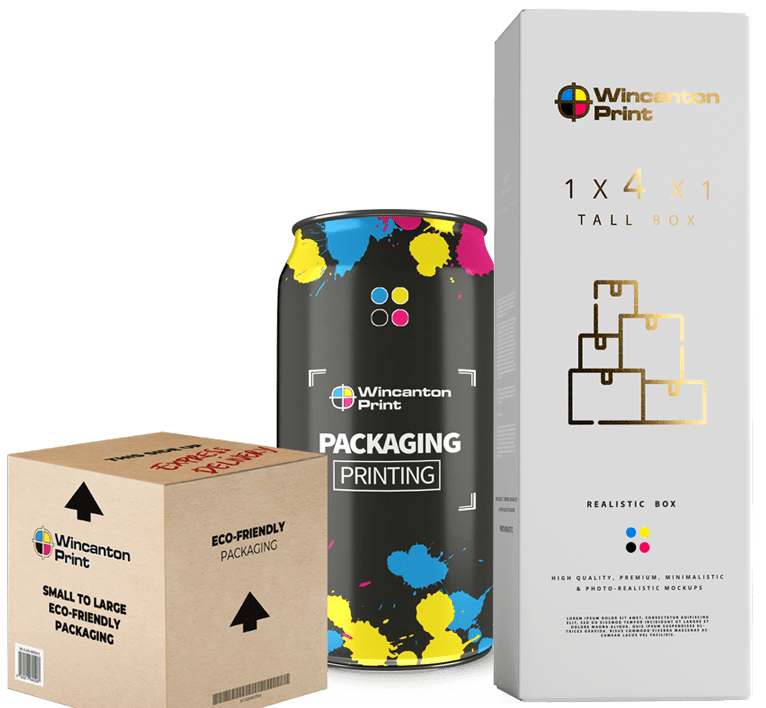 Eco friendly Printed Packaging - Drinks cans, stickers, boxes