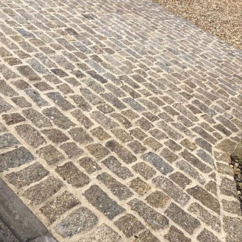 Beautiful Granite Setts Driveway Stone Paving By Marc Purdy Paving In Sherborne