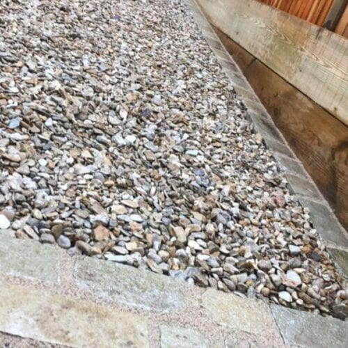 Dorset gravel for driveways and garden paths in Somerset